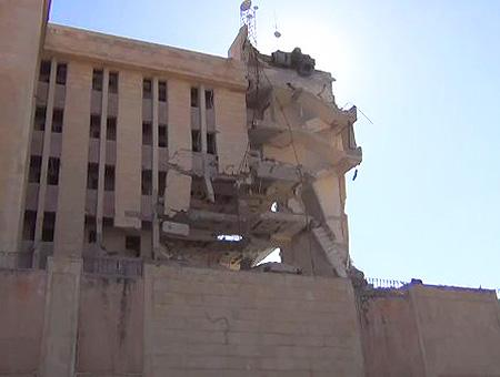 Siria hospital bombardeado idlib