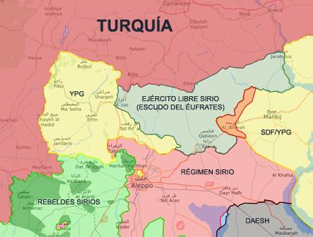 Siria operacion escudo eufrates