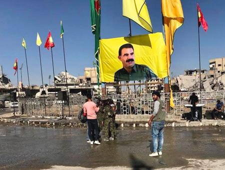 Siria raqqa pkk ypg