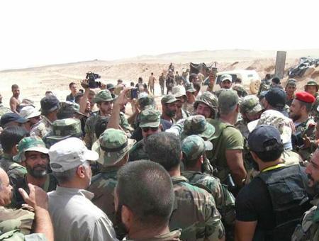 Siria tropas sirias deir ezzor