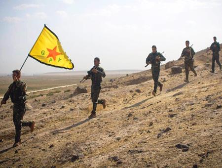 Siria ypg pyd milicias