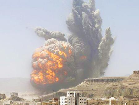 Yemen bombardeo coalicion saudi