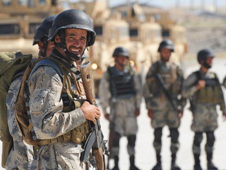 Afganistan soldados afganos