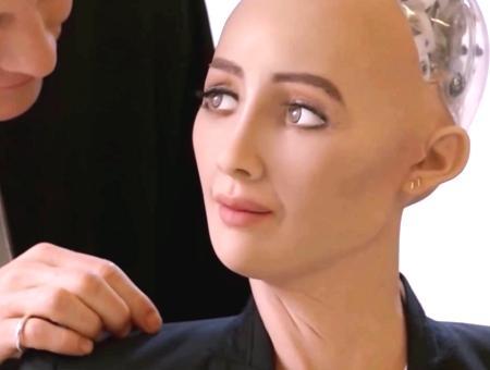 Arabia saudi robot humanoide sophia