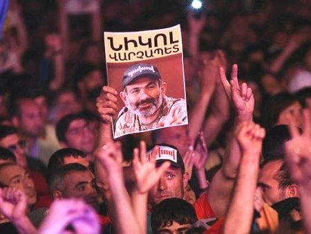 Armenia protestas pashinyan