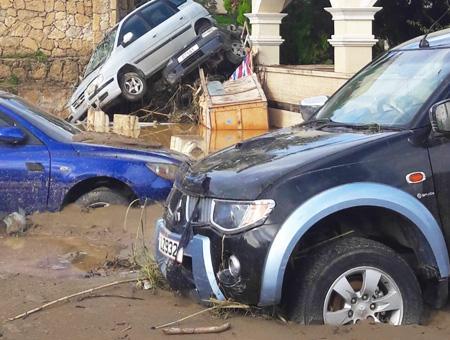 Chipre inundaciones lluvias kirenia