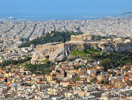 Grecia atenas partenon capital