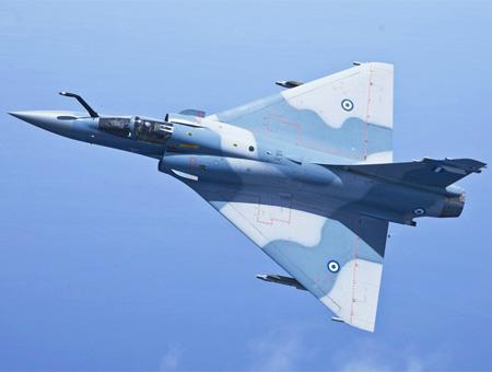 Grecia caza combate mirage2000