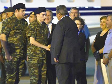 Grecia soldados griegos liberados turquia