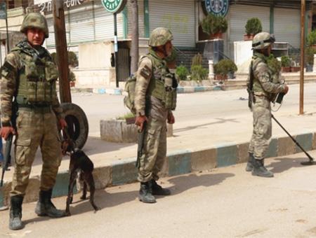Siria afrin soldados turcos