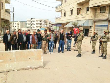 Siria afrin ypg soldados turcos