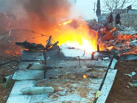 Rusia pide ayuda a Turquía para recuperar los restos del avión derribado en Siria