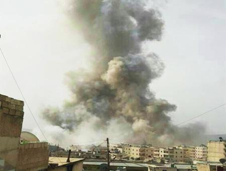 Siria explosion afrin