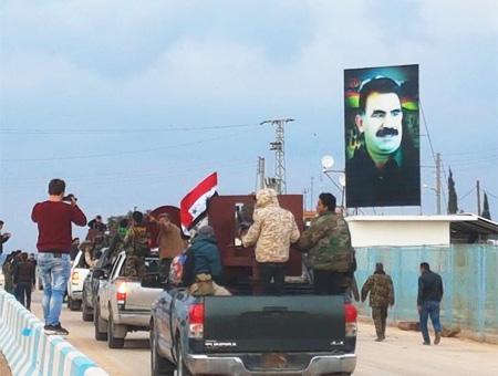 El ejército turco bombardea a las milicias chiíes pro Assad para impedir que lleguen a Afrin
