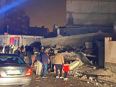 Albania tirana terremoto seismo