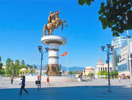Macedonia skopie estatua alejandro