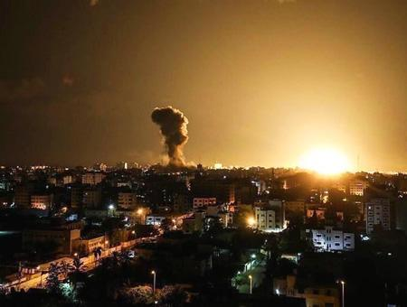 Palestina gaza bombardeos israel