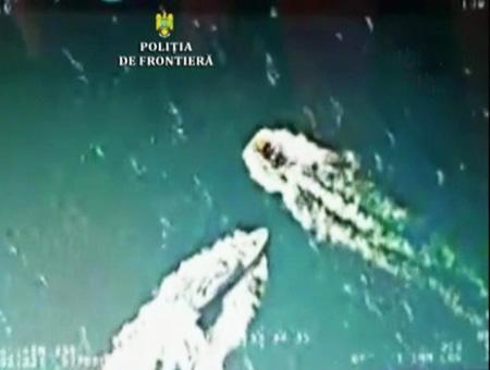 Rumania abordaje pesquero turco