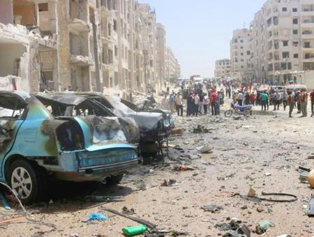 Siria idlib ataques aereos