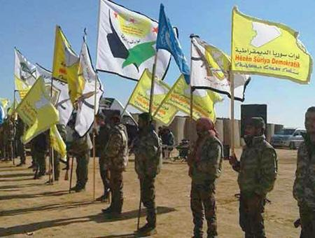Siria sdf ypg