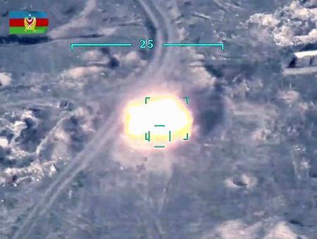 Azerbaiyan combates frontera armenia