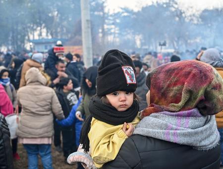 Grecia refugiados sirios frontera