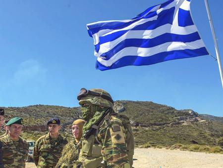 Grecia soldados griegos egeo