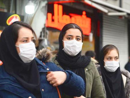 Iran mujeres mascarillas coronavirus