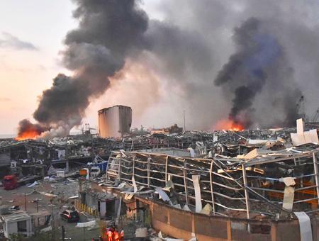Libano explosion puerto beirut
