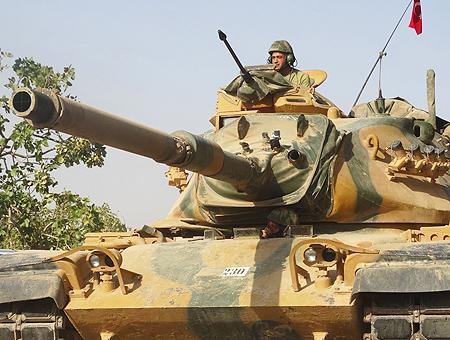 Siria tanque ejercito turco