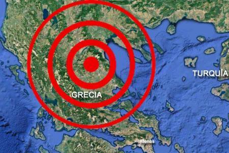 Grecia terremoto seismo