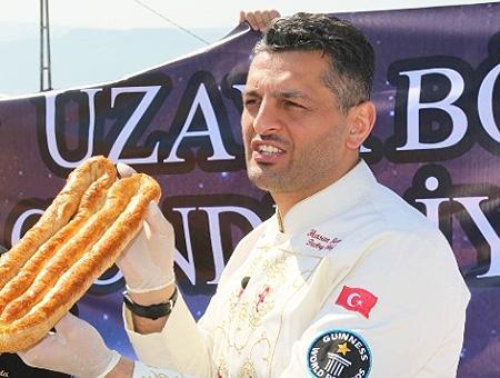 Chef turco borek espacio
