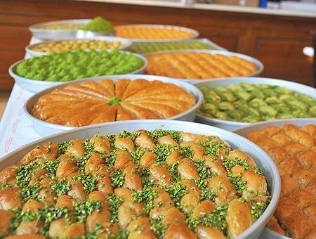 Gaziantep baklava turco
