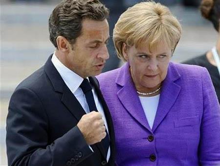 Sarkozy merkel