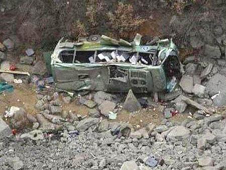 Accidente autobus marruecos