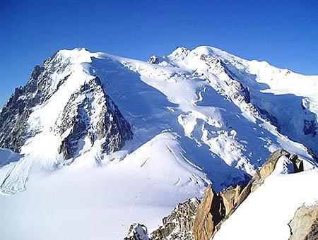 Alpes franceses mont blanc