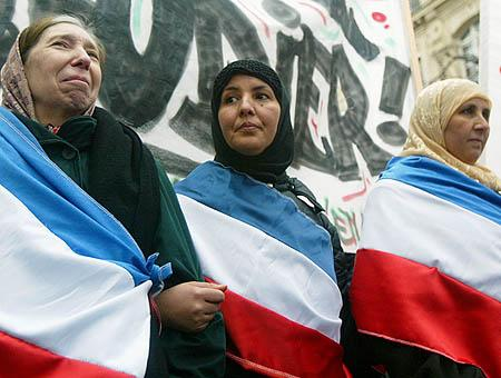 Mujeres musulmanas francia