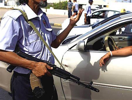 Policia libia tripoli