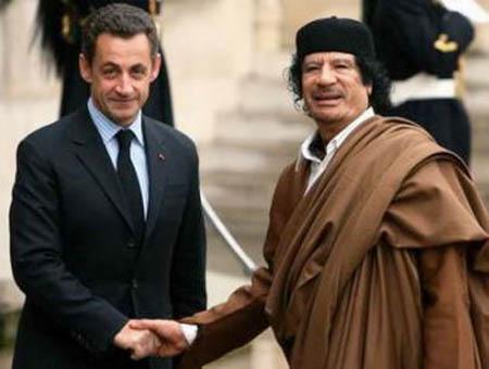 Sarkozy gadafi