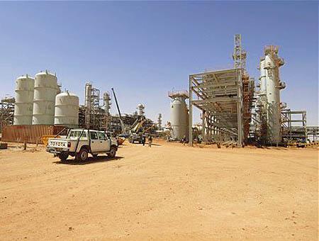 Argelia planta gas