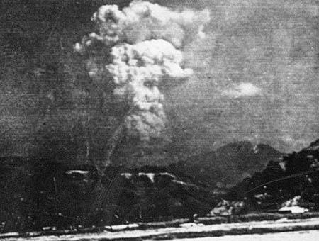 Bomba hiroshima foto