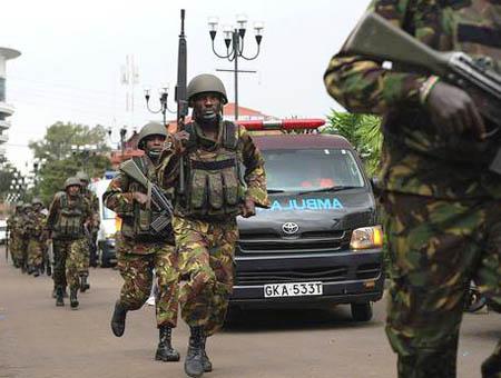 Kenia militares atentado