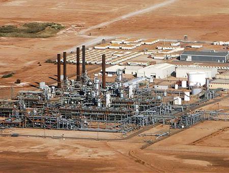Planta gas argelia