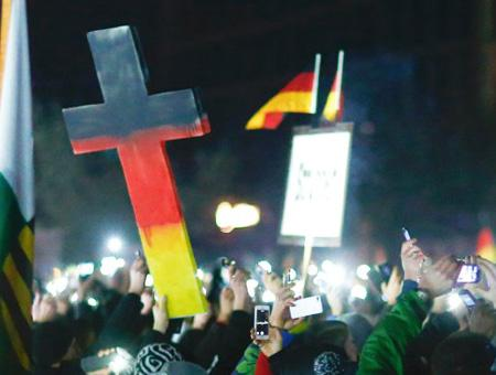 Alemania protesta pegida