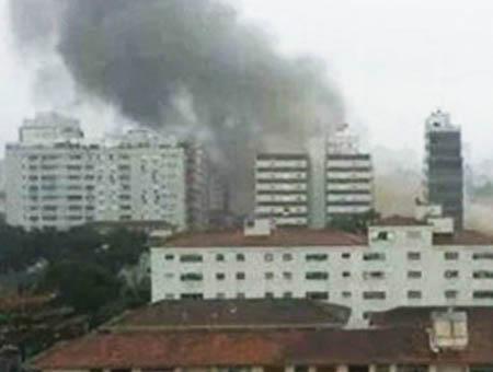 Brasil accidente aereo