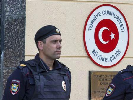 Rusia embajada turquia
