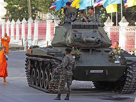 Tailandia militares ejercito