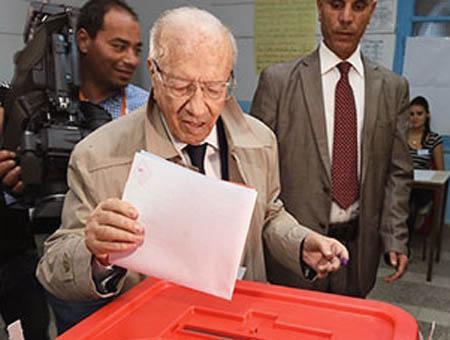 Tunez elecciones essebsi