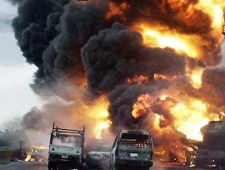 Africa ghana explosion