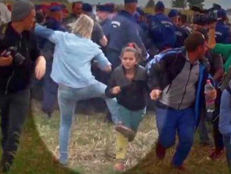 Hungria reportera agresion refugiados